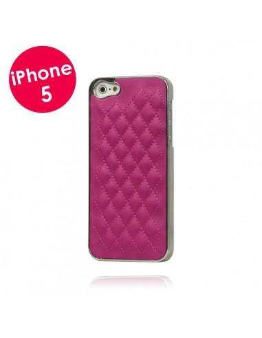 Coque Matelassée pour iPhone 5