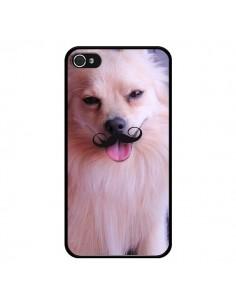 Coque Clyde Chien Movember Moustache pour iPhone 4 et 4S - Bertrand Carriere