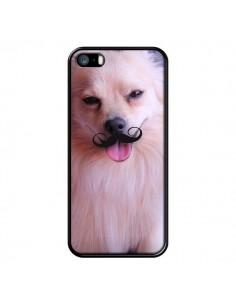 Coque Clyde Chien Movember Moustache pour iPhone 5 et 5S - Bertrand Carriere