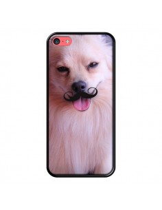 Coque Clyde Chien Movember Moustache pour iPhone 5C - Bertrand Carriere