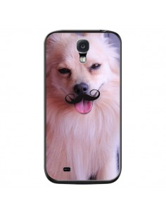 Coque Clyde Chien Movember Moustache pour Samsung Galaxy S4 - Bertrand Carriere