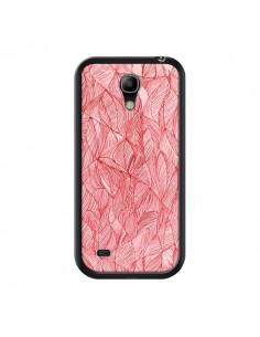 Coque Courbes Meandre Rouge Cerise pour Samsung Galaxy S4 Mini - Léa Clément