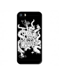 Coque Greetings from the kraken Tentacules Poulpe pour iPhone 5 et 5S - Senor Octopus