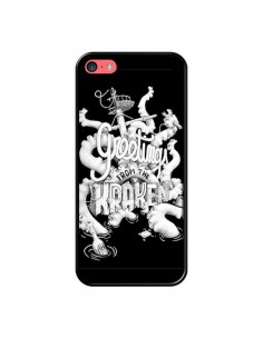 Coque Greetings from the kraken Tentacules Poulpe pour iPhone 5C - Senor Octopus