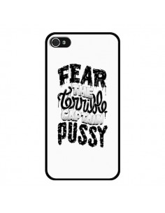 Coque Fear the terrible captain pussy pour iPhone 4 et 4S - Senor Octopus