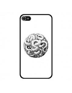 Coque Boule Tentacule Octopus Poulpe pour iPhone 4 et 4S - Senor Octopus