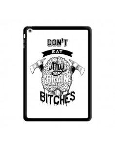 Coque Don't eat my brain Bitches Cerveau Blanc pour iPad Air - Senor Octopus