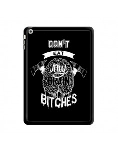 Coque Don't eat my brain Bitches Cerveau Noir pour iPad Air - Senor Octopus