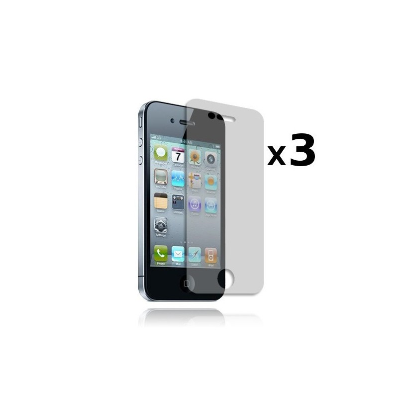 Films de protection Avant x3 pour iPhone 4/4S