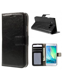 Etui Portefeuille Brillant Simili Cuir Luxe pour Samsung Galaxy S6