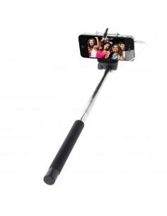 Selfie Stick et Télécommande perche Extensible 20-100 cm câble jack pour iPhone et Samsung