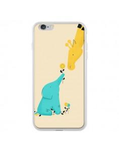 Coque Elephant Bebe Girafe pour iPhone 6 Plus - Jay Fleck