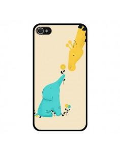 Coque Elephant Bebe Girafe pour iPhone 4 et 4S - Jay Fleck