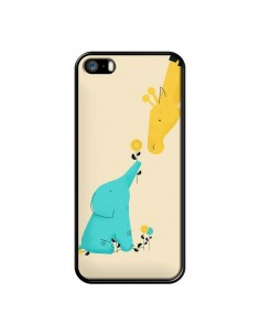 Coque Elephant Bebe Girafe pour iPhone 5 et 5S - Jay Fleck