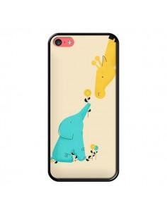 Coque Elephant Bebe Girafe pour iPhone 5C - Jay Fleck