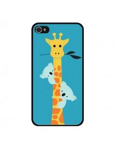 Coque Koala Girafe Arbre pour iPhone 4 et 4S - Jay Fleck
