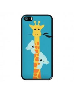 Coque Koala Girafe Arbre pour iPhone 5 et 5S - Jay Fleck