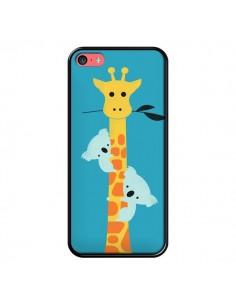Coque Koala Girafe Arbre pour iPhone 5C - Jay Fleck