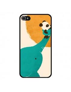 Coque Elephant Help Panda pour iPhone 4 et 4S - Jay Fleck