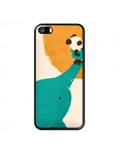 Coque Elephant Help Panda pour iPhone 5 et 5S - Jay Fleck