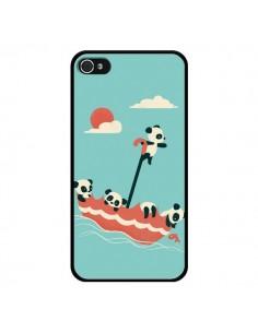 Coque Parapluie Flottant Panda pour iPhone 4 et 4S - Jay Fleck