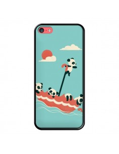 Coque Parapluie Flottant Panda pour iPhone 5C - Jay Fleck