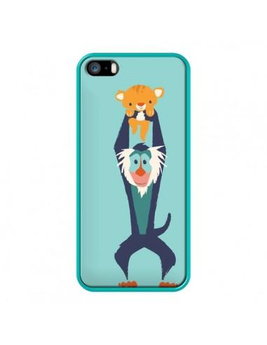 Coque iPhone 5/5S et SE Futur Roi Lion King Rafiki - Jay Fleck
