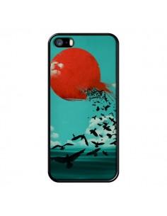 Coque Soleil Oiseaux Mer pour iPhone 5 et 5S - Jay Fleck