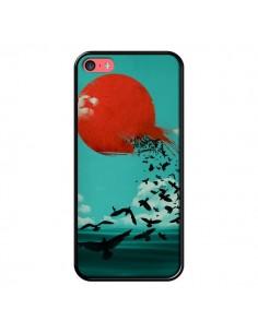 Coque Soleil Oiseaux Mer pour iPhone 5C - Jay Fleck