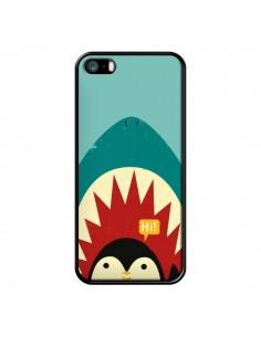 Coque Pingouin Requin pour iPhone 5 et 5S - Jay Fleck