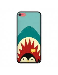Coque Pingouin Requin pour iPhone 5C - Jay Fleck