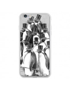 Coque Pingouins Gentlemen pour iPhone 6 Plus - Eric Fan