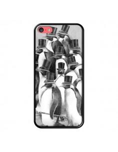 Coque Pingouins Gentlemen pour iPhone 5C - Eric Fan