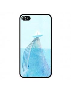 Coque Baleine Whale Bateau Mer pour iPhone 4 et 4S - Eric Fan