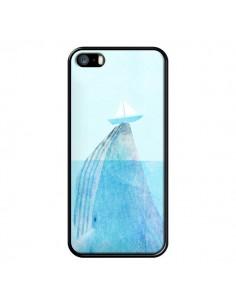 Coque Baleine Whale Bateau Mer pour iPhone 5 et 5S - Eric Fan