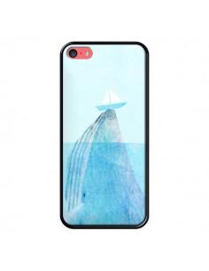 Coque Baleine Whale Bateau Mer pour iPhone 5C - Eric Fan