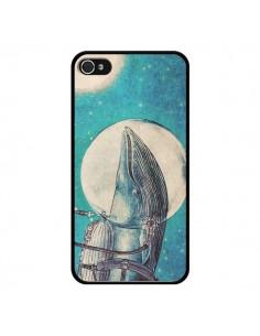 Coque Baleine Whale Voyage Journey pour iPhone 4 et 4S - Eric Fan