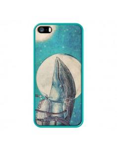 Coque Baleine Whale Voyage Journey pour iPhone 5 et 5S - Eric Fan