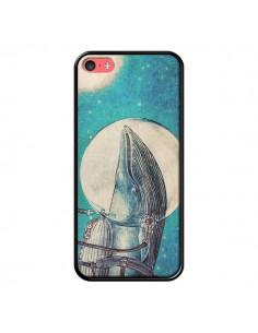 Coque Baleine Whale Voyage Journey pour iPhone 5C - Eric Fan