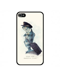 Coque The Pilot Fish Poisson Pilote pour iPhone 4 et 4S - Eric Fan