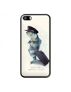 Coque The Pilot Fish Poisson Pilote pour iPhone 5 et 5S - Eric Fan