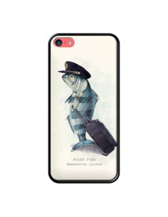 Coque The Pilot Fish Poisson Pilote pour iPhone 5C - Eric Fan