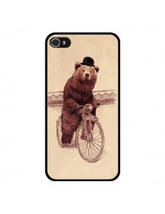 Coque Ours Velo Barnabus Bear pour iPhone 4 et 4S - Eric Fan