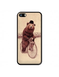 Coque Ours Velo Barnabus Bear pour iPhone 5 et 5S - Eric Fan