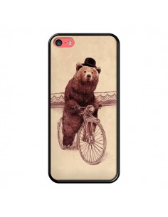 Coque Ours Velo Barnabus Bear pour iPhone 5C - Eric Fan