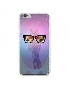 Coque Girafe Geek à Lunettes pour iPhone 6 Plus - Aurelie Scour