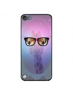 Coque Girafe Geek à Lunettes pour iPod Touch 5 - Aurelie Scour