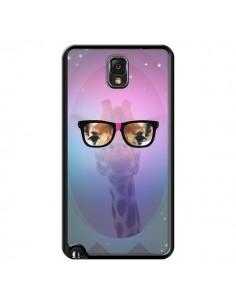 Coque Girafe Geek à Lunettes pour Samsung Galaxy Note III - Aurelie Scour