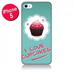 Coque Love Cupcake pour iPhone 5/5S et SE - Nico