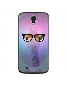 Coque Girafe Geek à Lunettes pour Samsung Galaxy S4 - Aurelie Scour